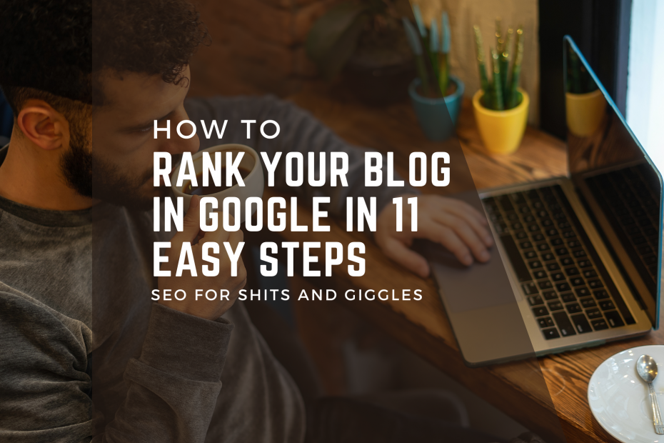 How to Rank Your Blog In Google banner